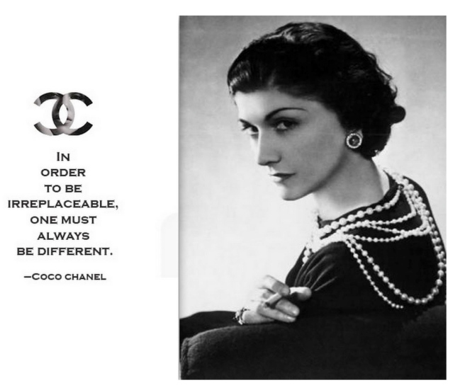 "Fashion's ""Irreplaceable"" Coco Chanel"