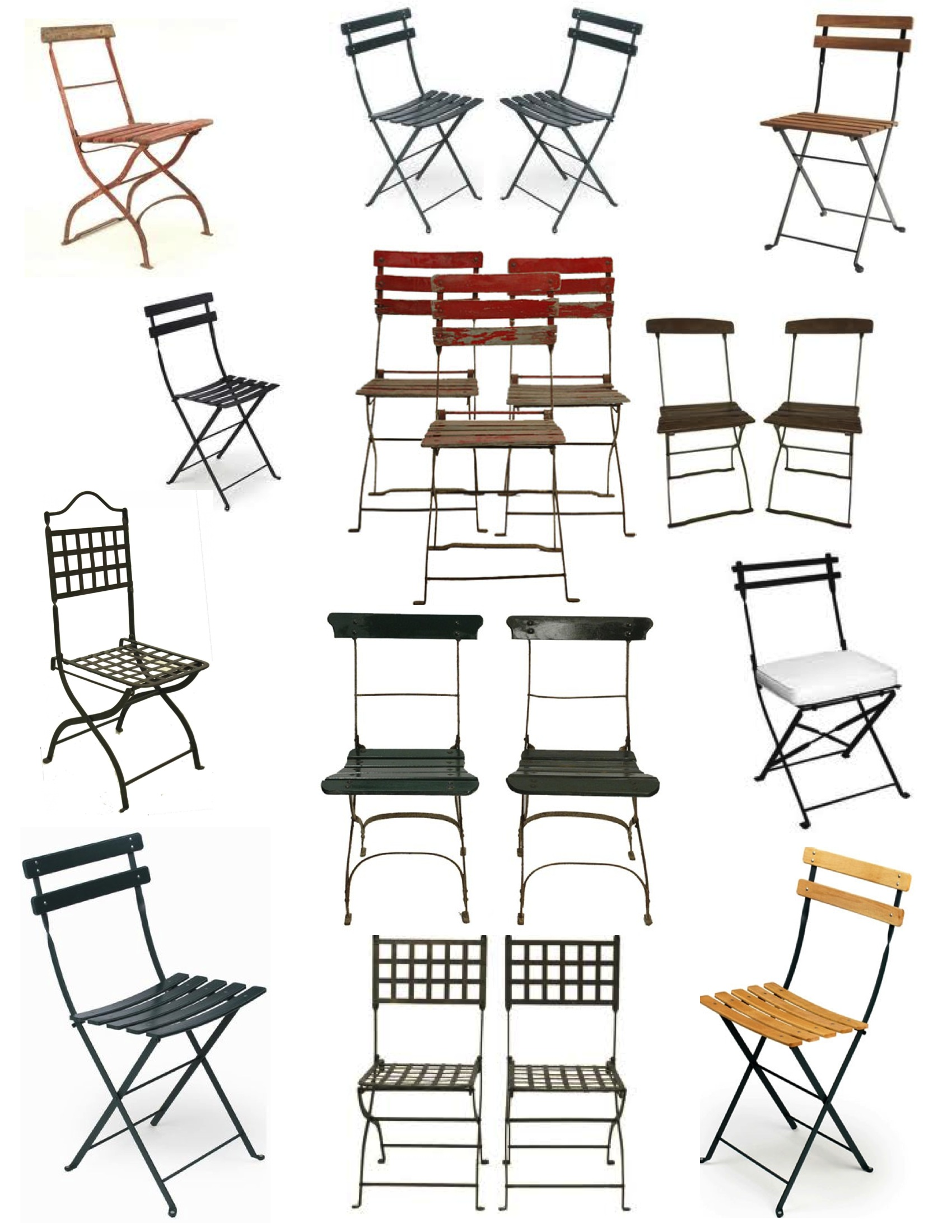 Marvelous The Charm Of The French Folding Chair House Appeal Caraccident5 Cool Chair Designs And Ideas Caraccident5Info