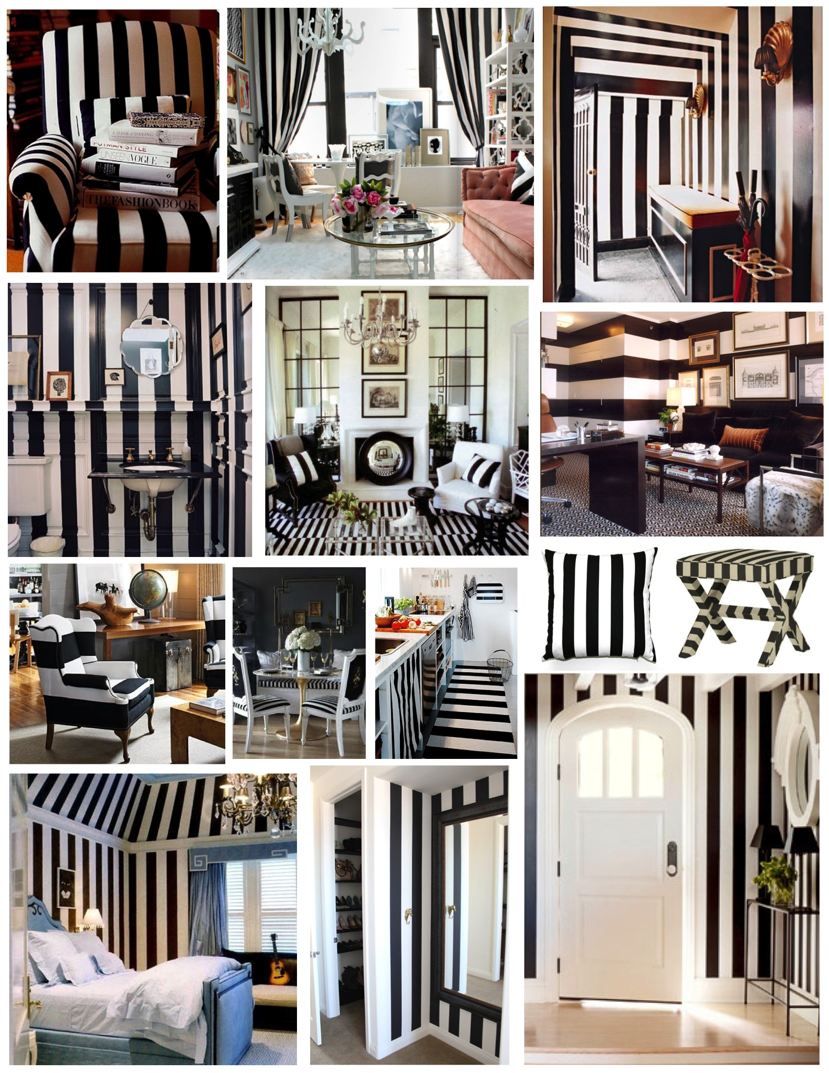Breton Stripes In Fashion and Interiors House Appeal