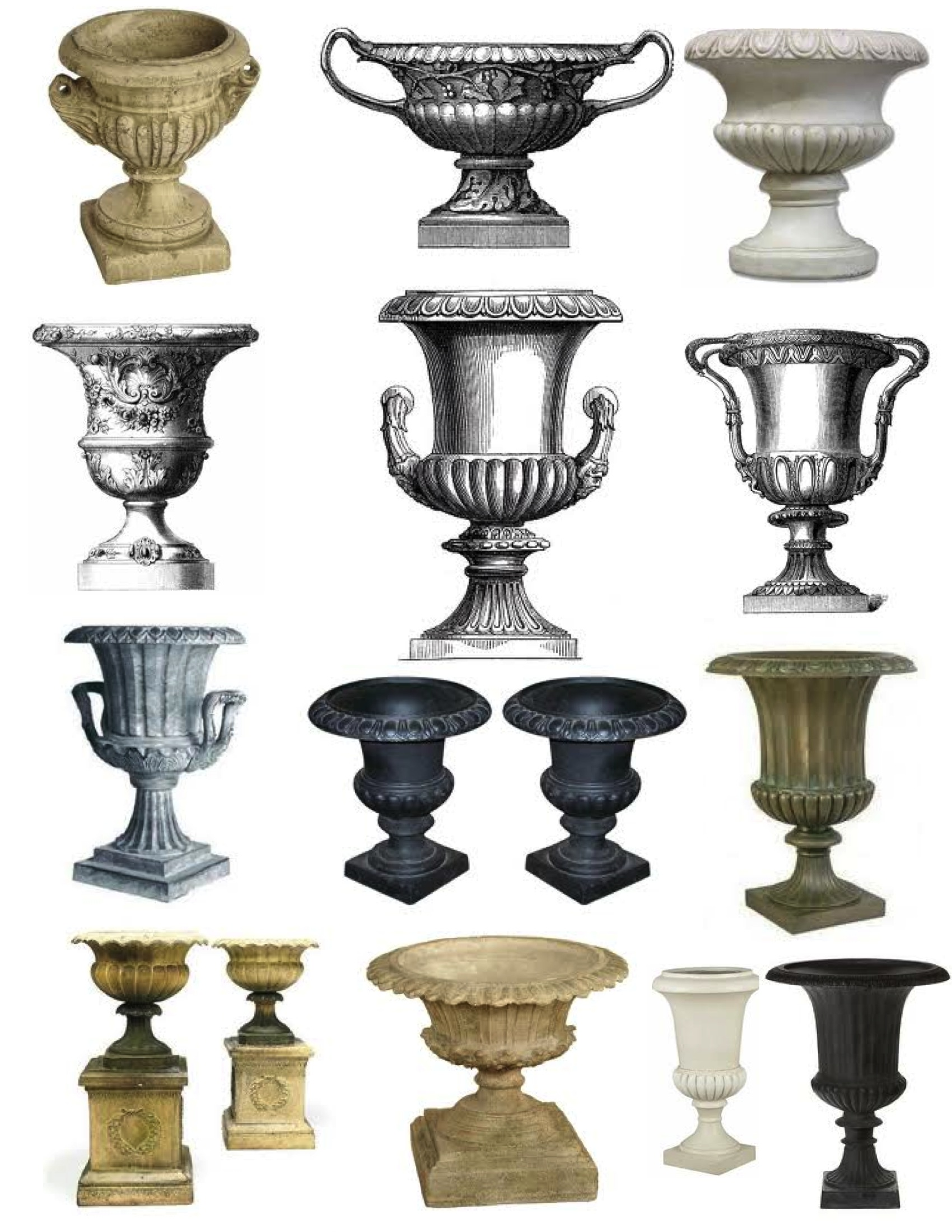 Exceptionnel The Classic U0026 Timeless Garden Urn