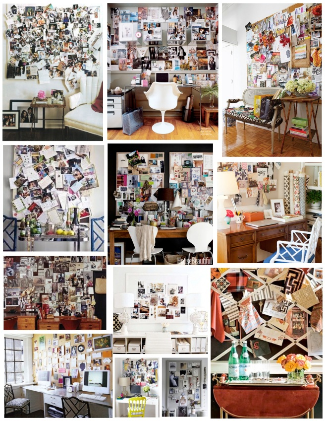 Inspiration Found:  The Inspiration Board