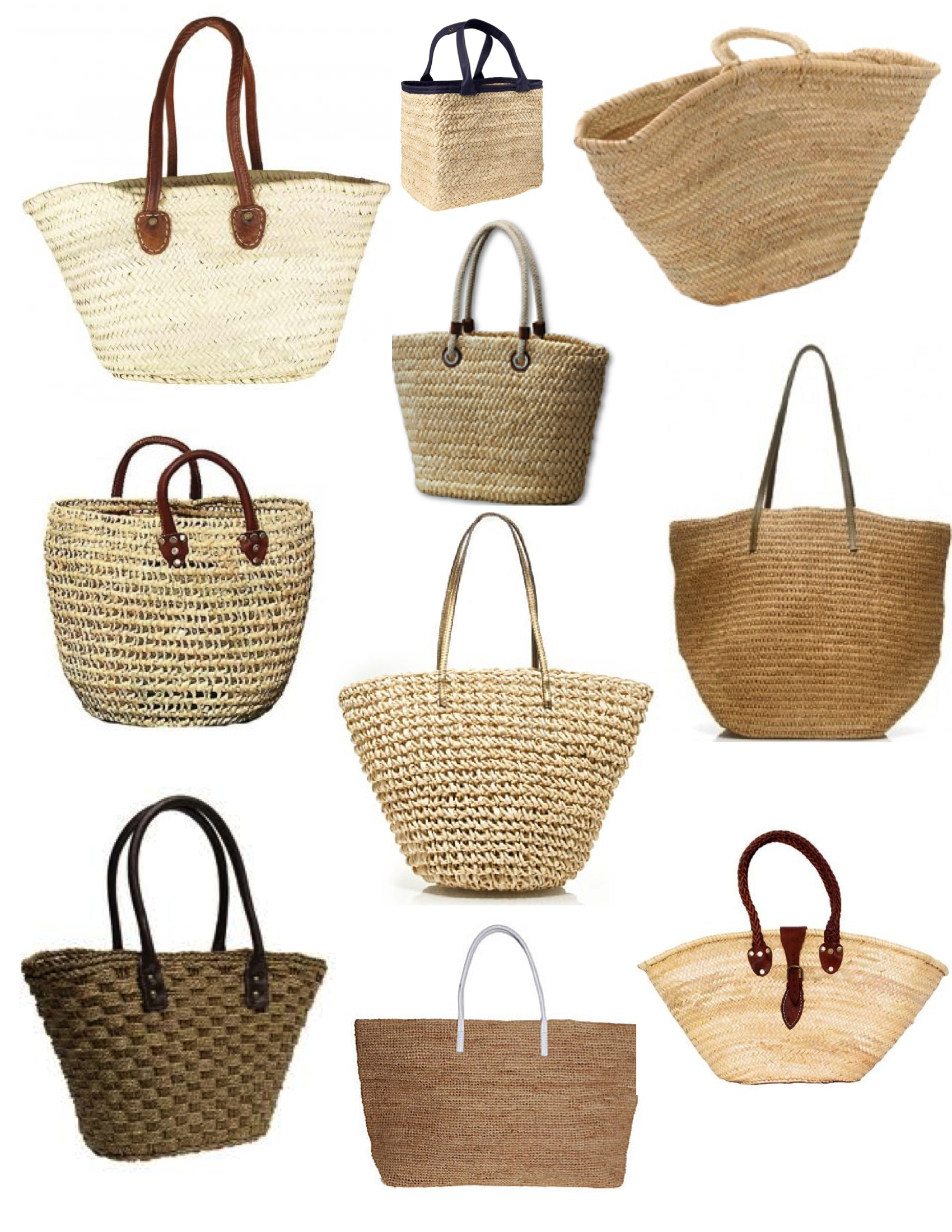 "Summer Style: The Appeal Of The ""Straw"" Tote 