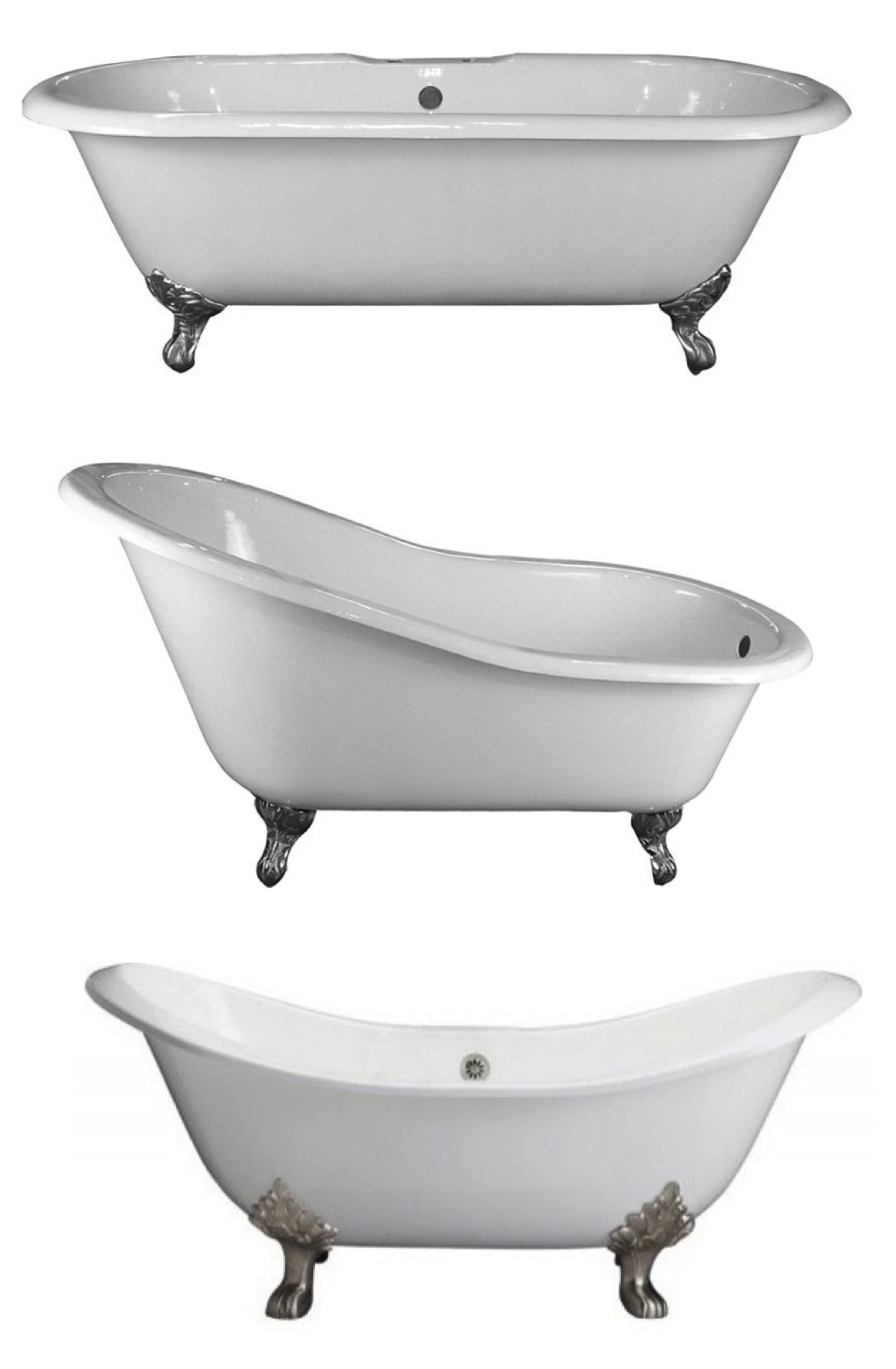 "Footed In Style: The ""Clawfoot"" Tub 