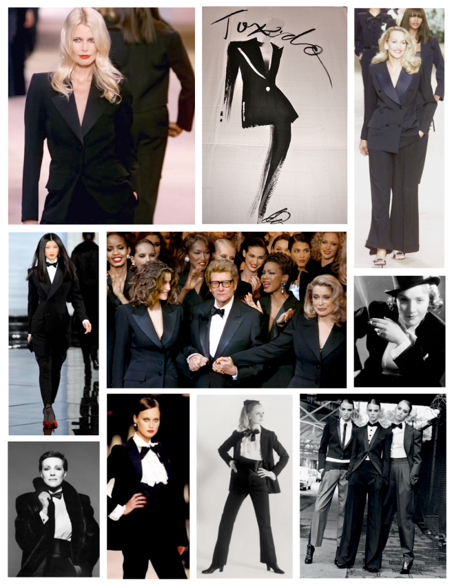 """Borrowed From The Gents...The """"Tuxedo"""""""