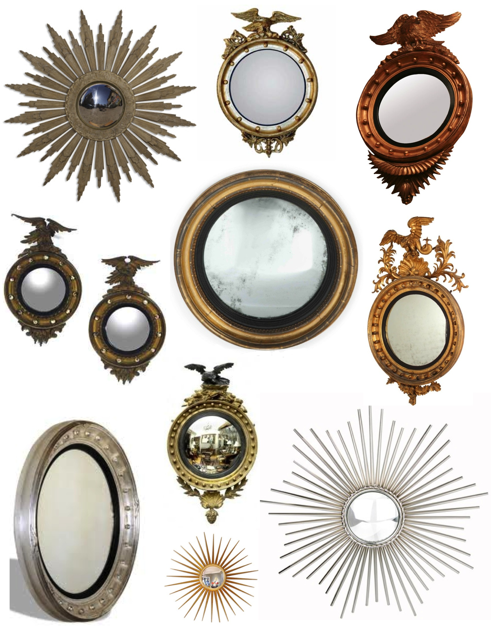 The Timeless Convex Mirror