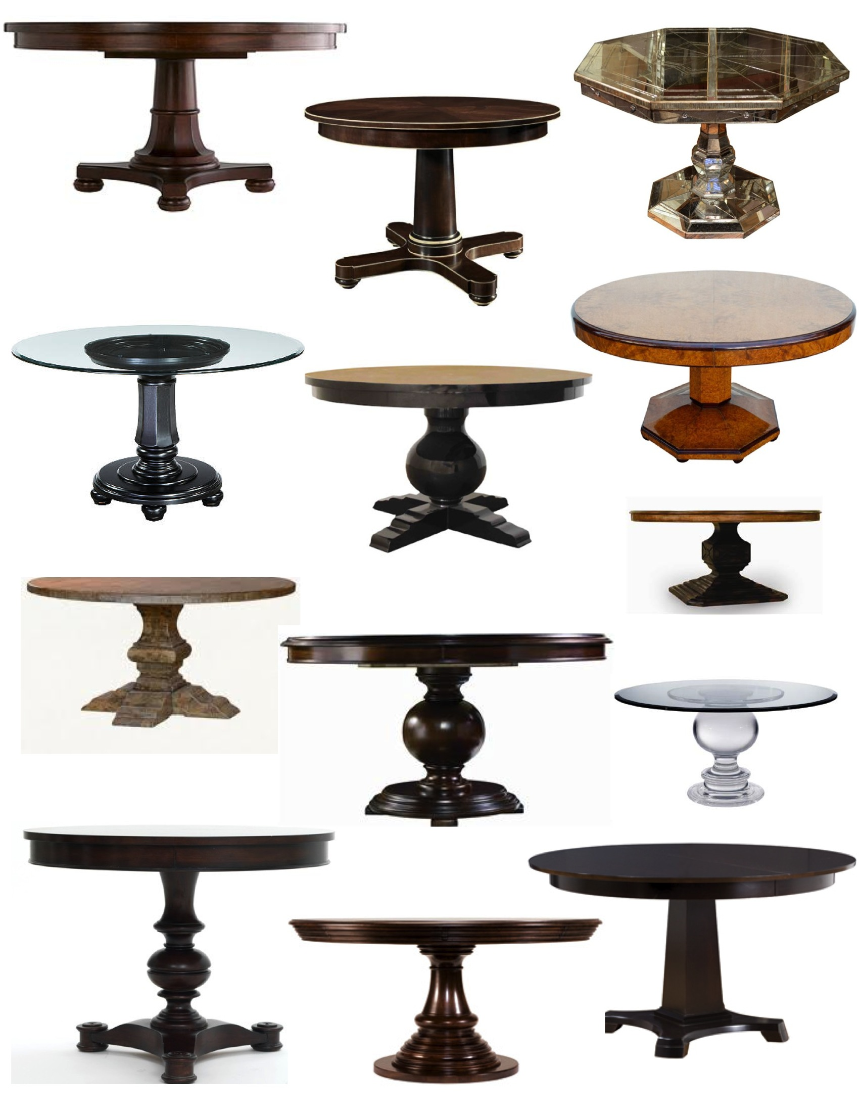 On A Pedestal The Elegance Of The Pedestal Table House