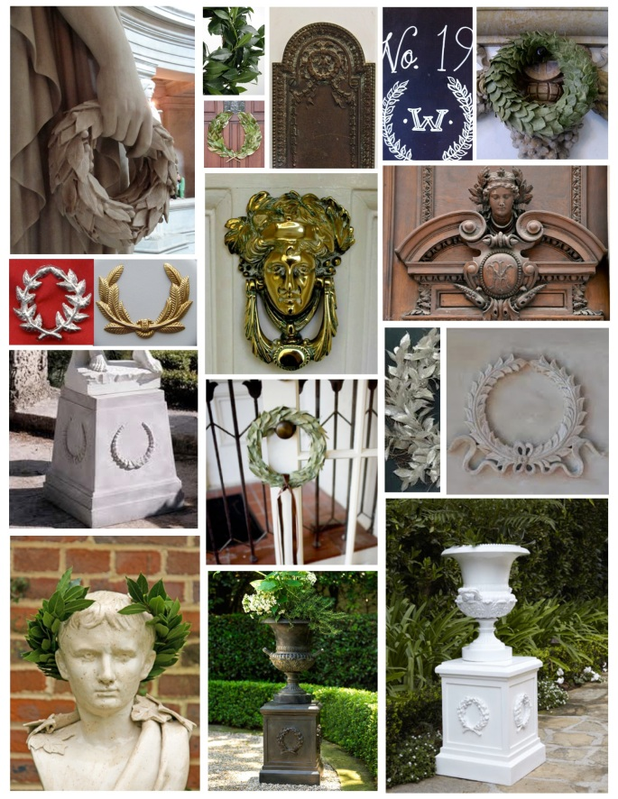 The Laurel Wreath:  Classic Exterior Details