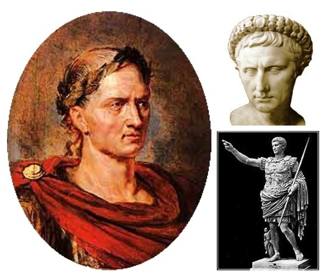 augustus and julius caesar The tale of six caesars (plus one) 1 julius caesar - the man who ended the republic 2 augustus caesar - the man who was first king 3 tiberius - the man who did not want to be king 4 sejanus - the man who barely missed becoming king 5 caligula - the man who should not have been king.