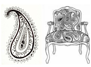 The Timeless Paisley Motif
