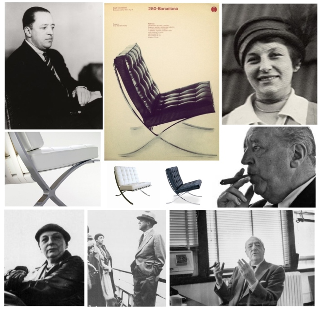 The Iconic Collaboration Of  Designers Mies van der Rohe And Lilly Reich