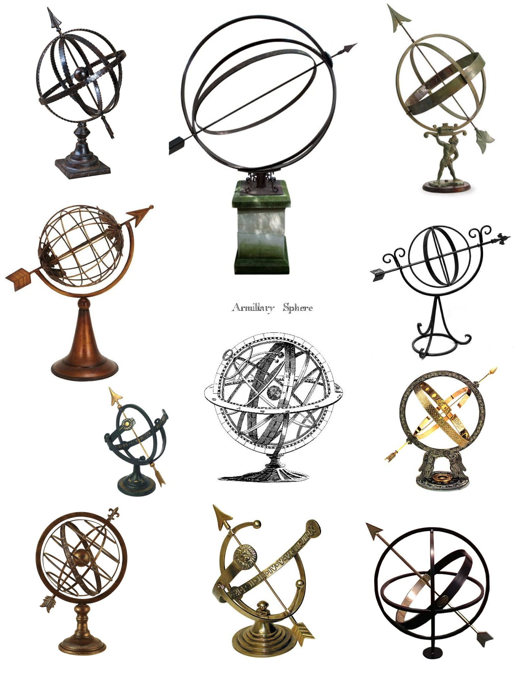 Interlocking Rings Of Timeless Design The Armillary Sphere House