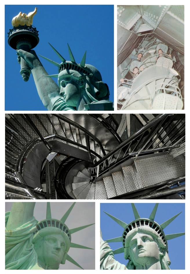 The Statue Of Liberty: Lady Liberty's Spiral Climb To The Crown