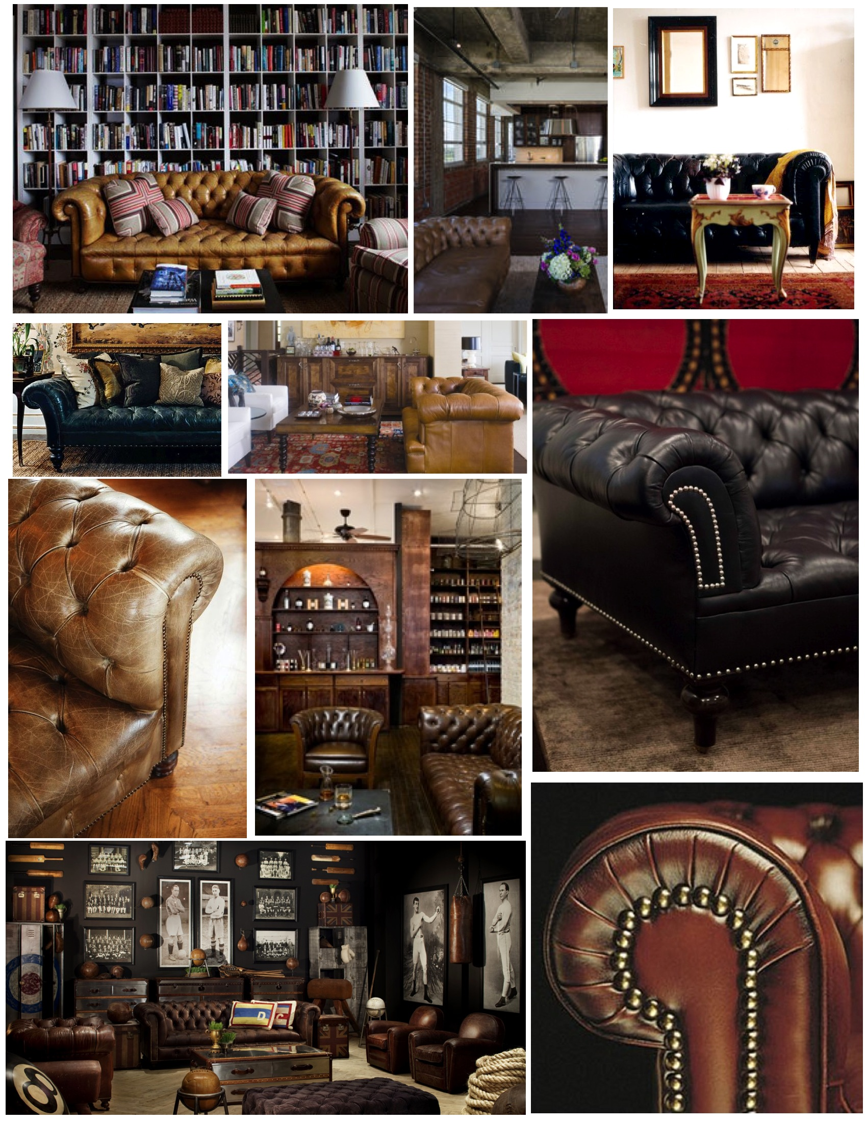 a chesterfield furniture history