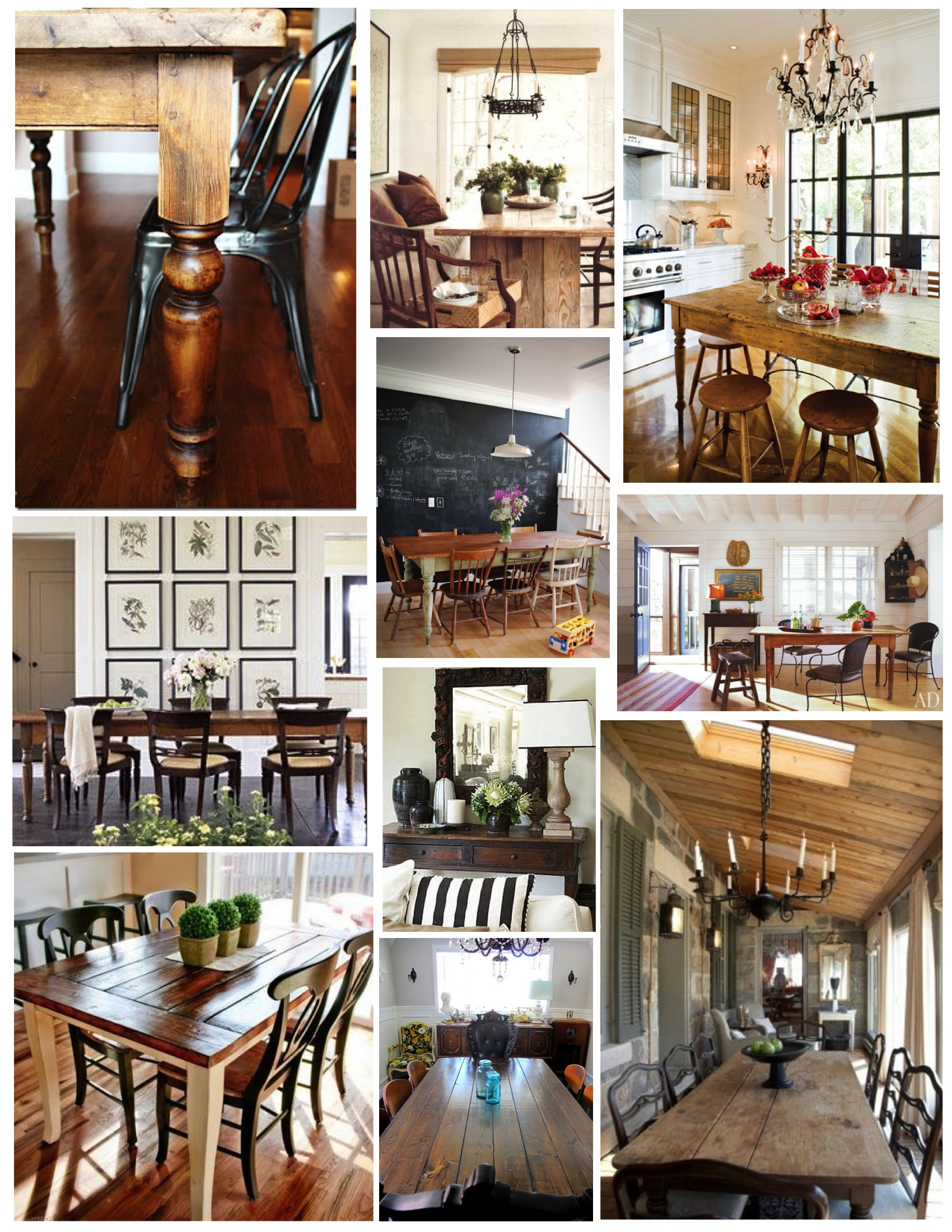 100 the rustic table how to get the best interior look with