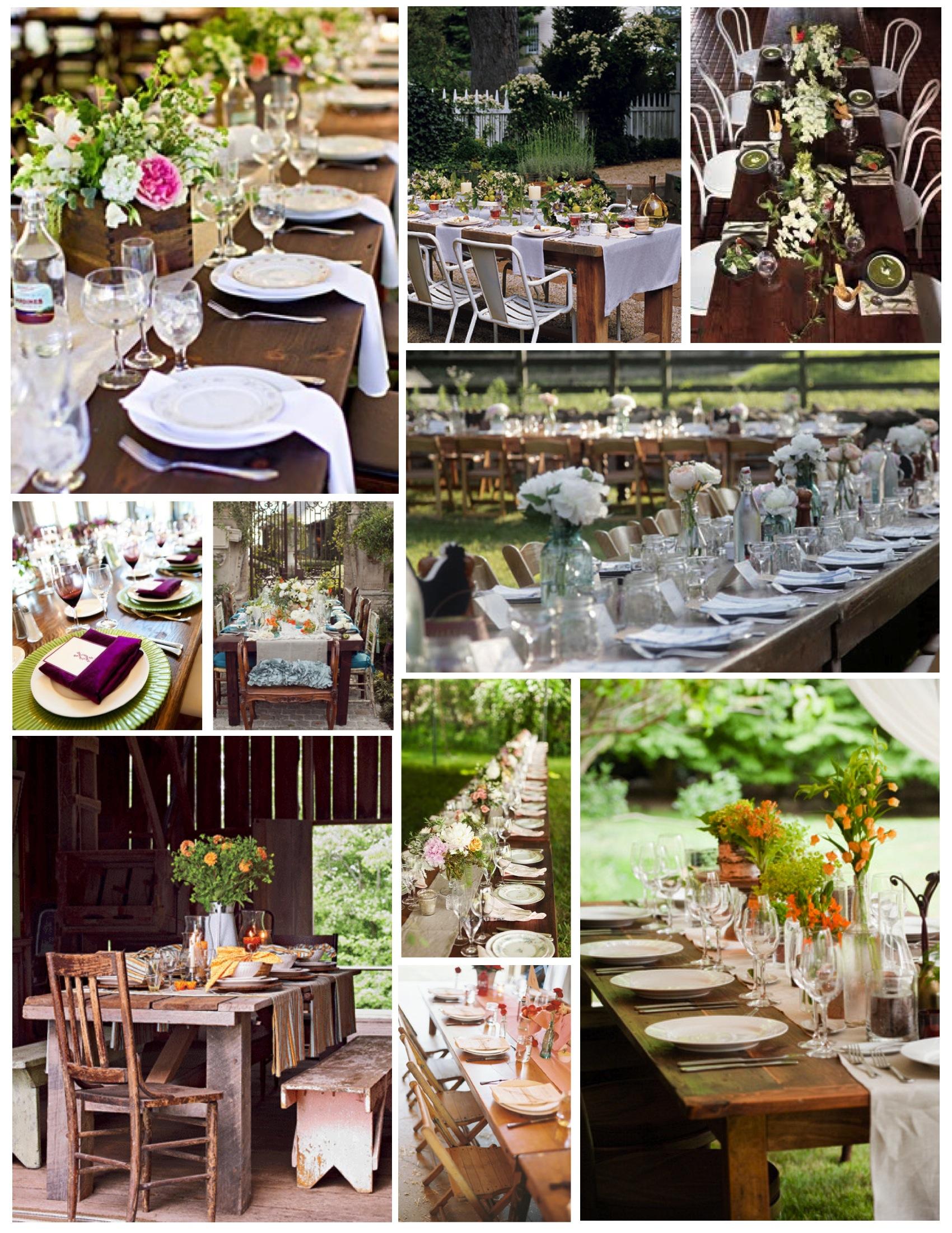 Farmhouse Style Kitchen Table