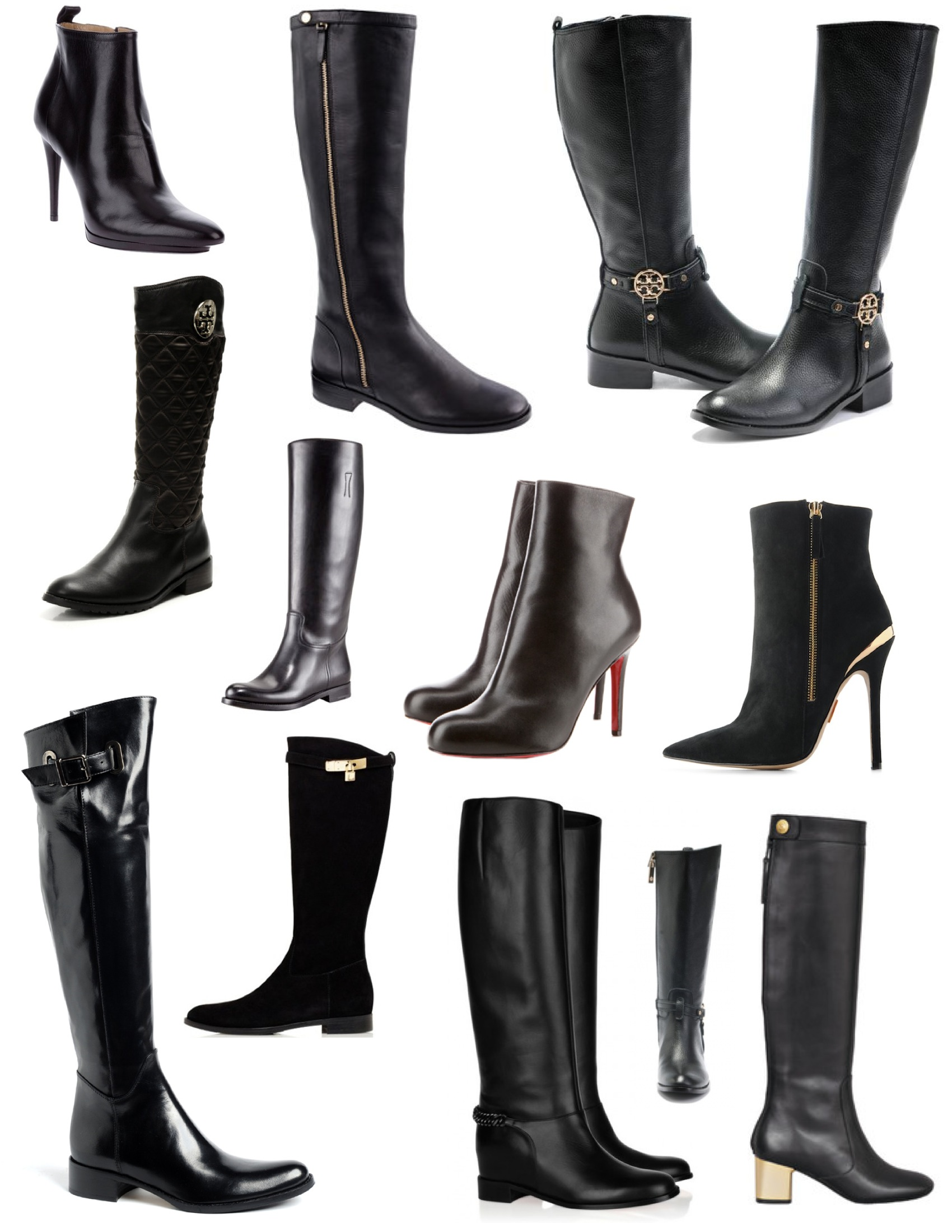 16a38f722e82d2 Stylish Function In Classic Black  The Powerful Leather Boot