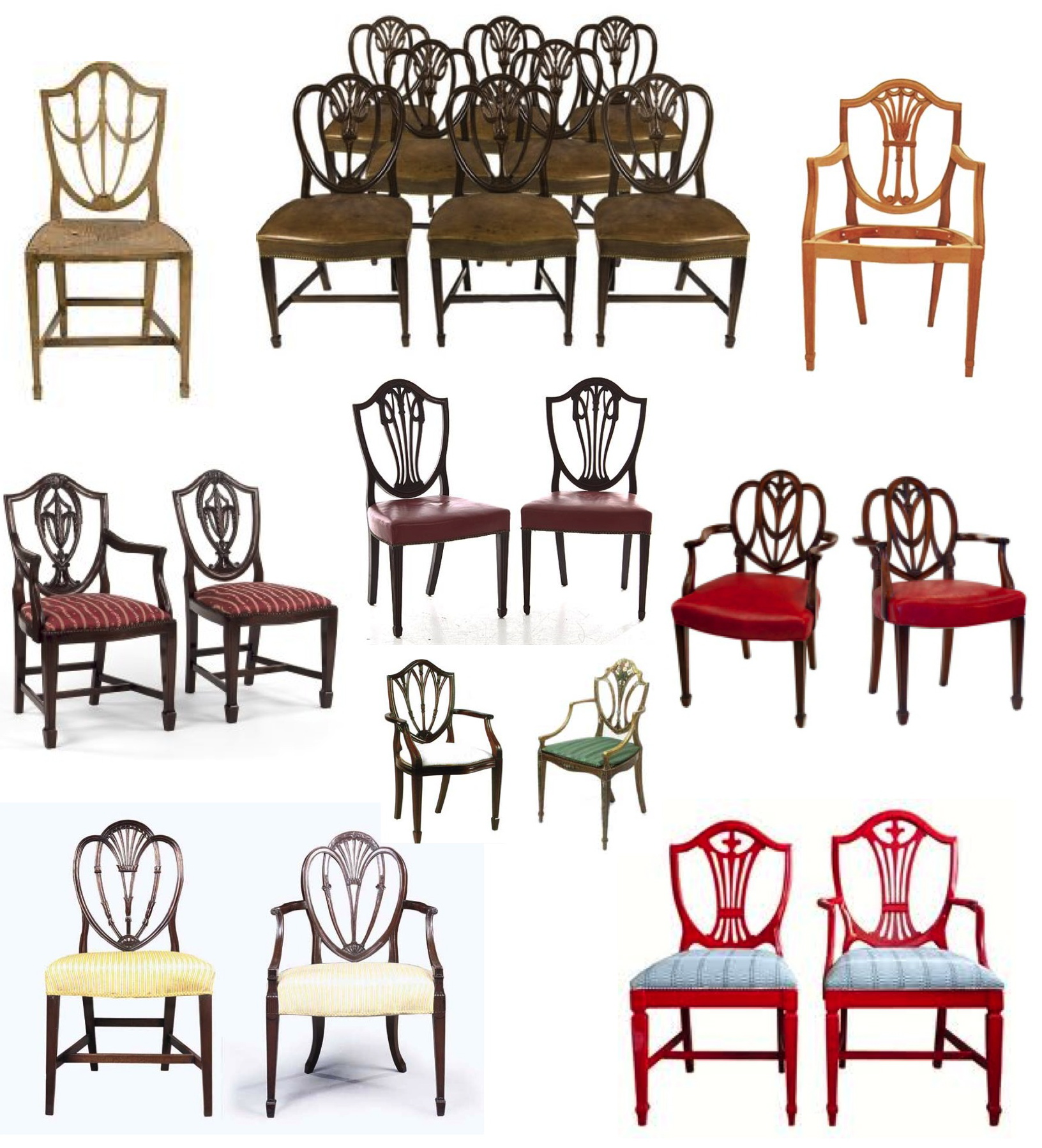 mystery of design the elegant hepplewhite shield back chair