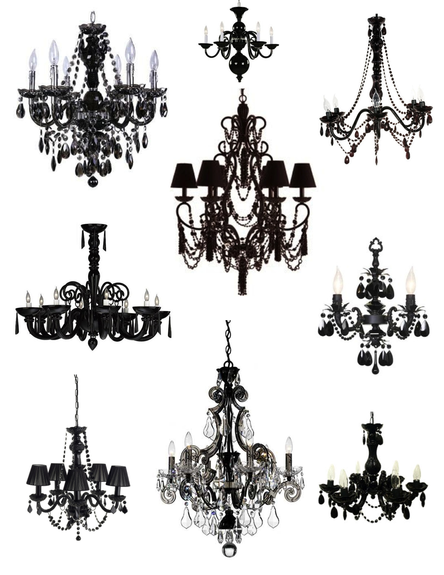 Unexpected drama the elegance sophistication of the black chandelier house appeal - Pictures of chandeliers ...