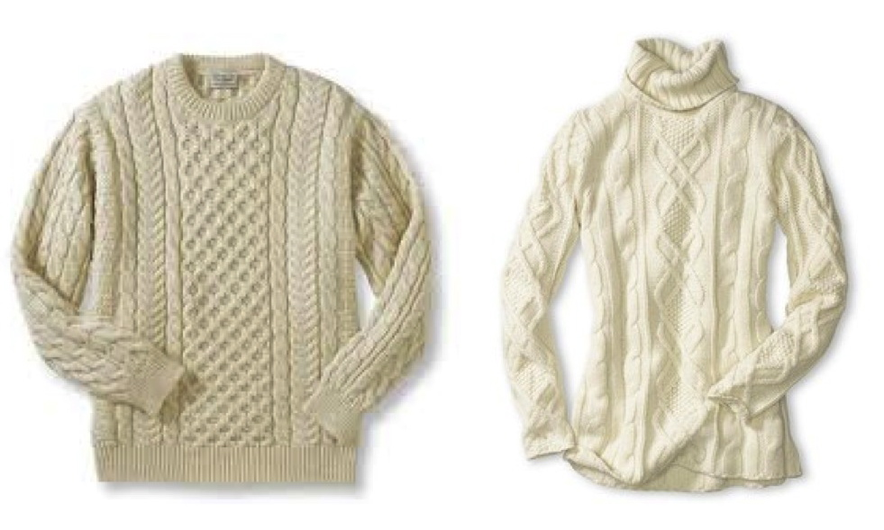 Knitting Patterns Fisherman s Rib Sweater : Warmth In Knitted Style: The Classic ?Fisherman? Sweater ...