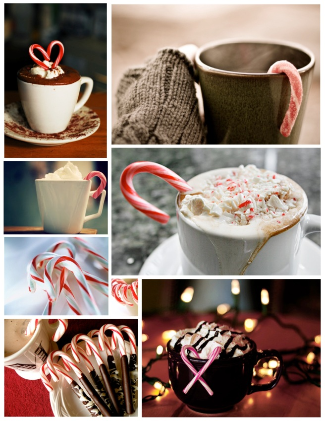 Peppermint Infused Warmth:  The Candy Cane