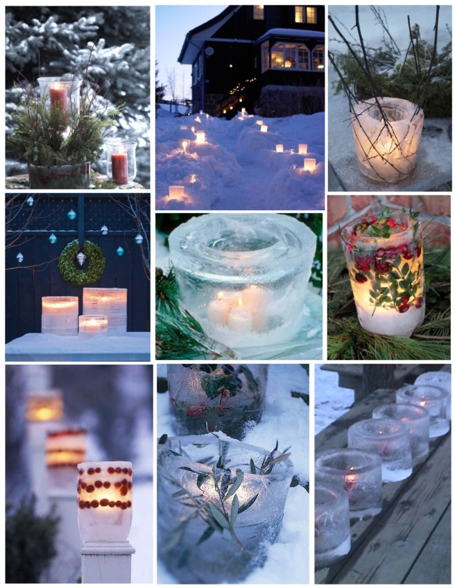 Lighting Up The Night With Ice Luminaires