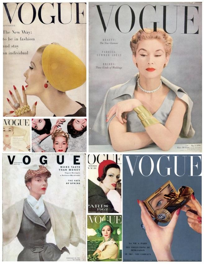 """""""Winged"""" Eyeliner:  Vintage Vouge"""