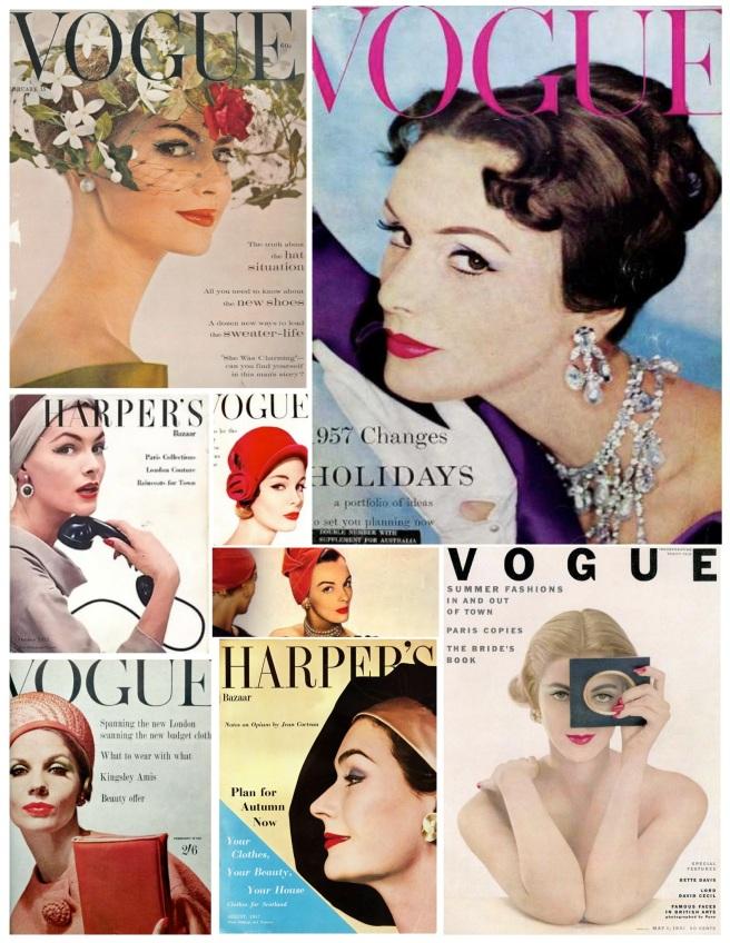"Vintage Inspirations Of Bold  ""Eyeliner"" Drama"