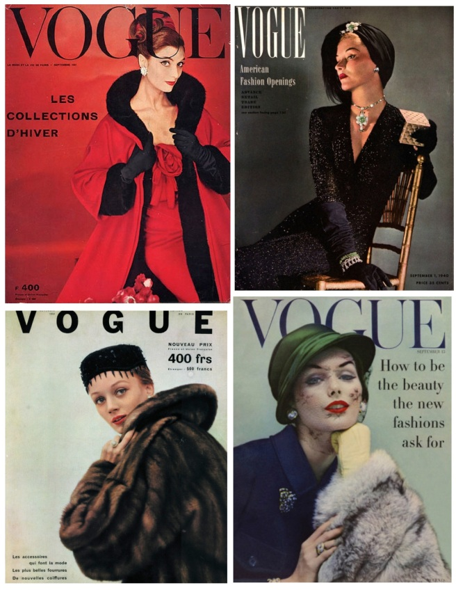 "Vintage Vouge:  ""Winged"" Style"