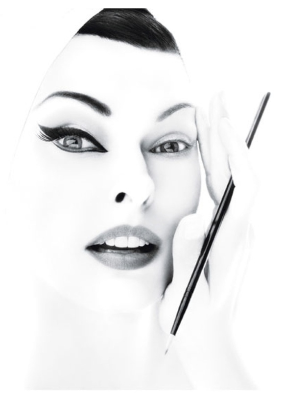 "The Allure Of ""Winged"" Eyeliner (Iconic Supermodel, Linda Evangelista)"