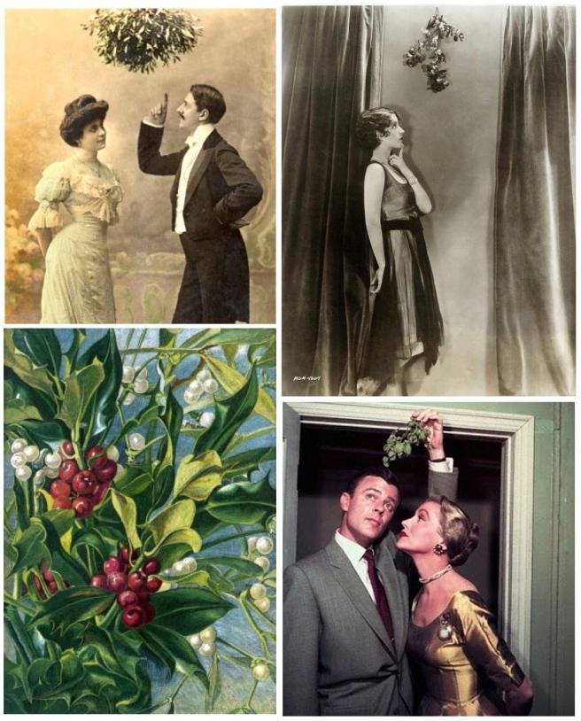 """Vintage Charm:  Alluring """"Mistletoe"""""""