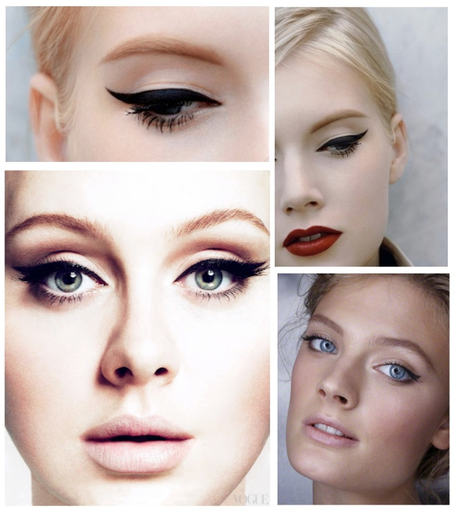 "The Art Of The ""Winged"" Eyeliner: Perfected"
