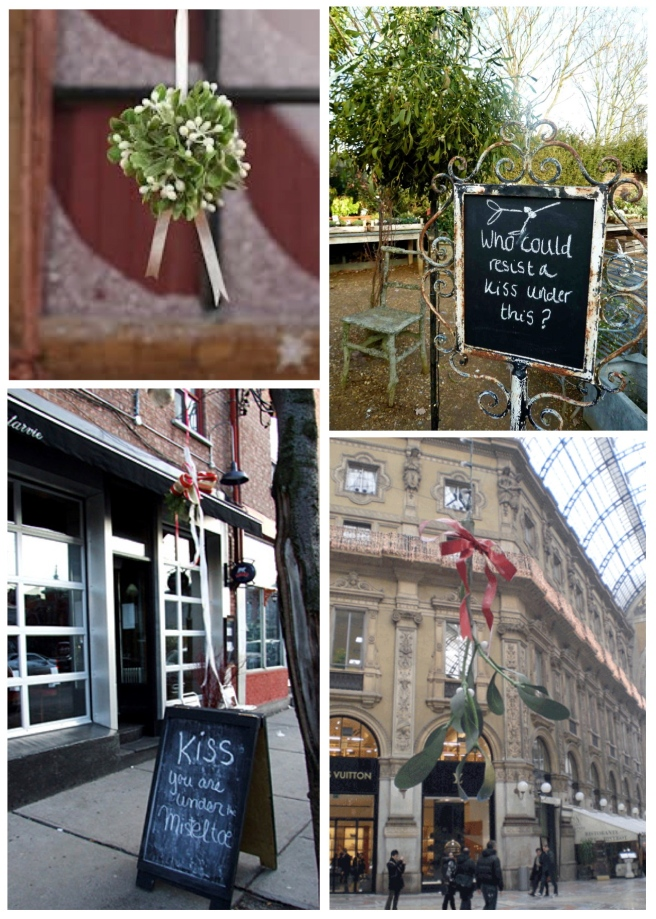 "Exterior Inspirations: A ""Mistletoe"" Request For A Kiss"