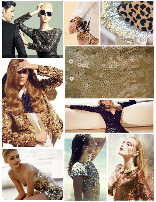 "Chic ""Sparkle"":  The Shiny Sequin"