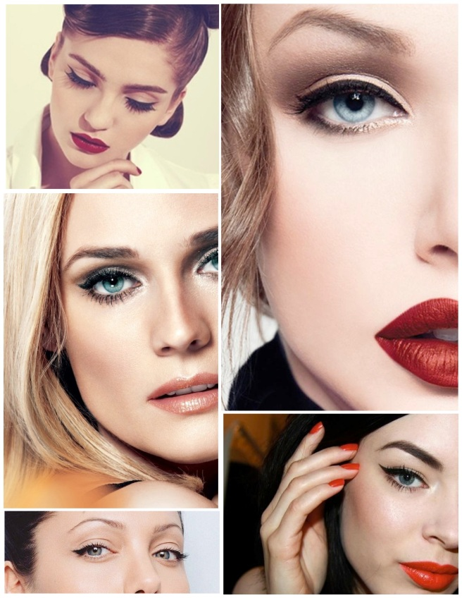 "The Glamourous & Exotic Eye:  ""Winged"" Eyeliner"