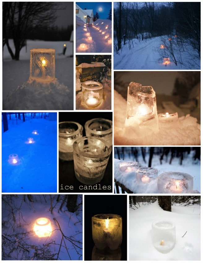 The Elegance Of Ice:  The Ice Luminaire