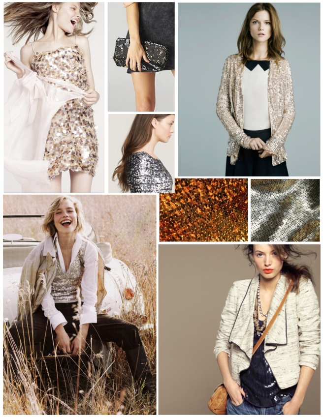 Shiny & Bright Additions:  Sequin Style
