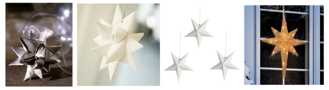 """German Star"", ""Froebel Star"", ""Swedish Star"" & ""Bethlehem Star"""