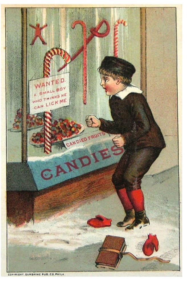 "Vintage ""Sweets"":  The Candy Cane"