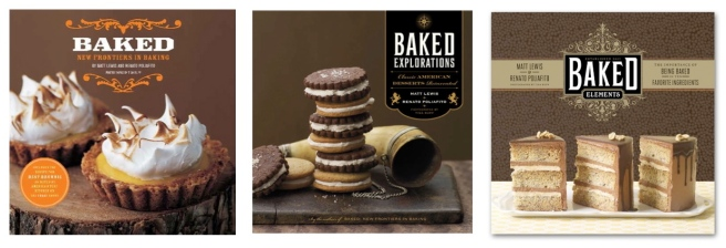 "Sweet Perfection:   The ""BAKED"" Trio Of Cookbooks"