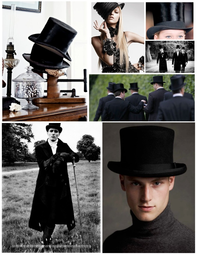 "The ""Topped Off"" Style Of The Tall Hat"
