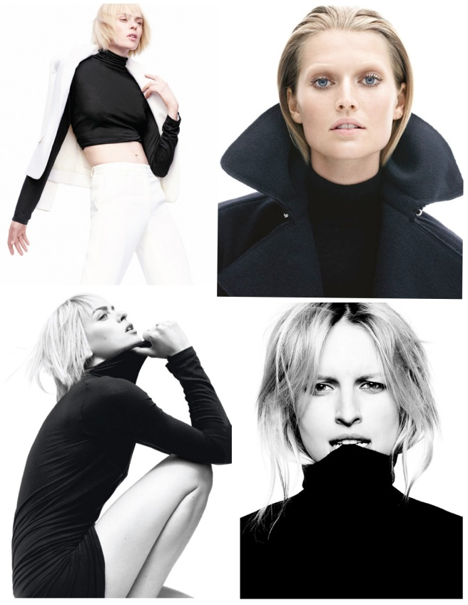 A Pullover Of Style:   The Classic Black Turtleneck