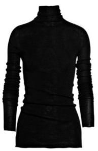 "The Iconic & Classic ""Black Turtleneck"""