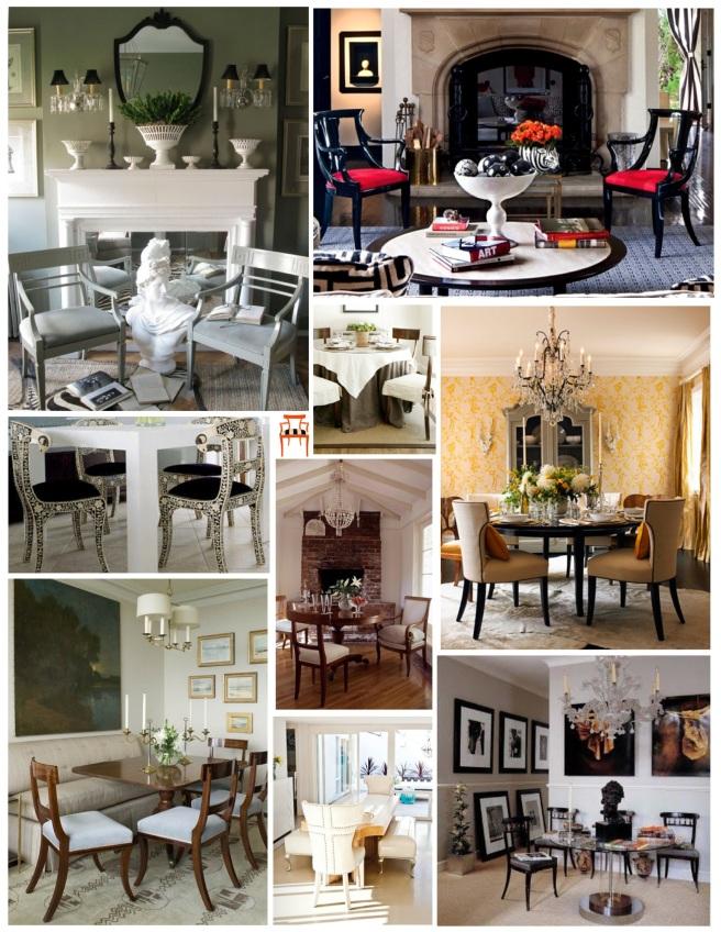 Distinctive Design Of Pure Style:  The Klismos Chair