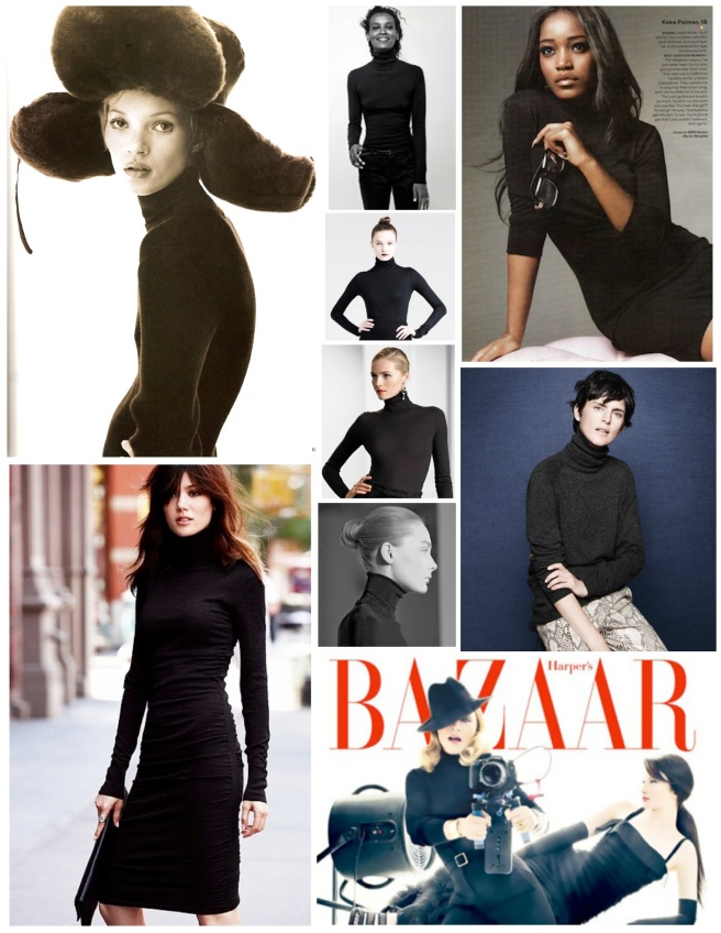 The Black Turtleneck:  A Garment Of Timeless Style