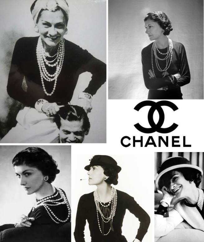 Coco Chanel's Iconic & Enduring Style:  Pearls