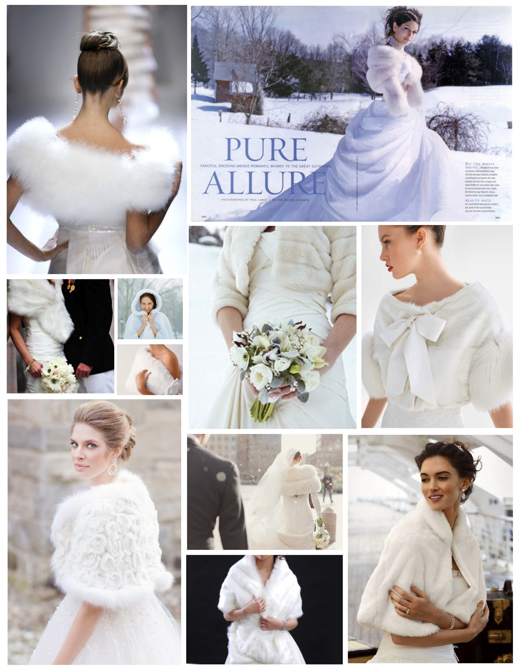The Winter Bride Elegance And Warmth In A Wrap Of Fur House Appeal
