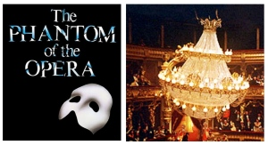 "The Iconic French Empire Chandelier In The ""Phantom Of The Opera"""