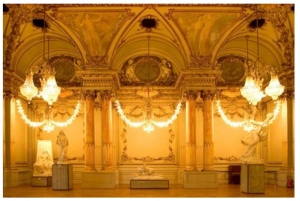 Musee D'Orsay, Paris Chandlier Room