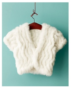 The Fur Bolero:  Chic Warmth