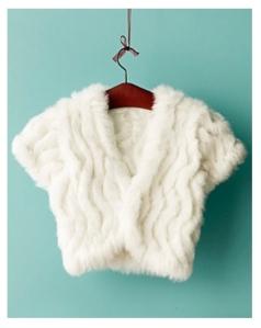 The Fur Bolero:  Chic Warmth